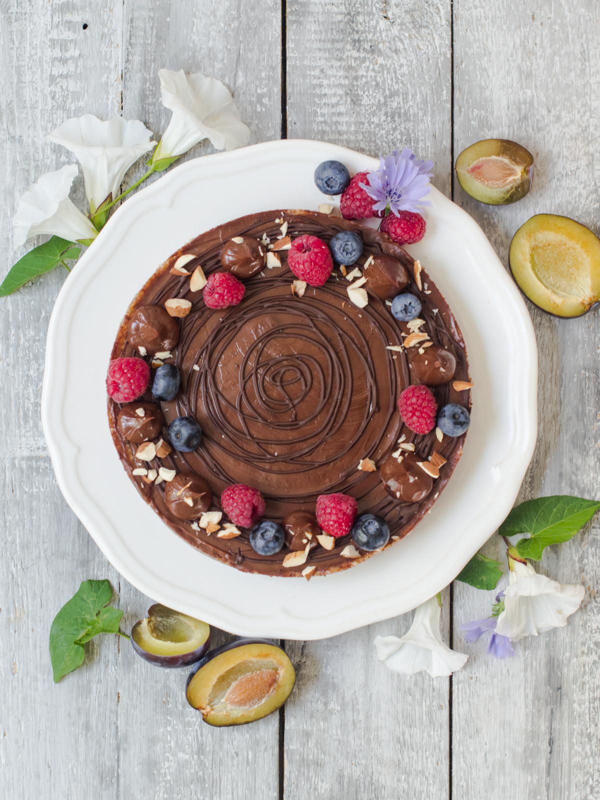 zdrava pita od sljiva i cokolade (6)