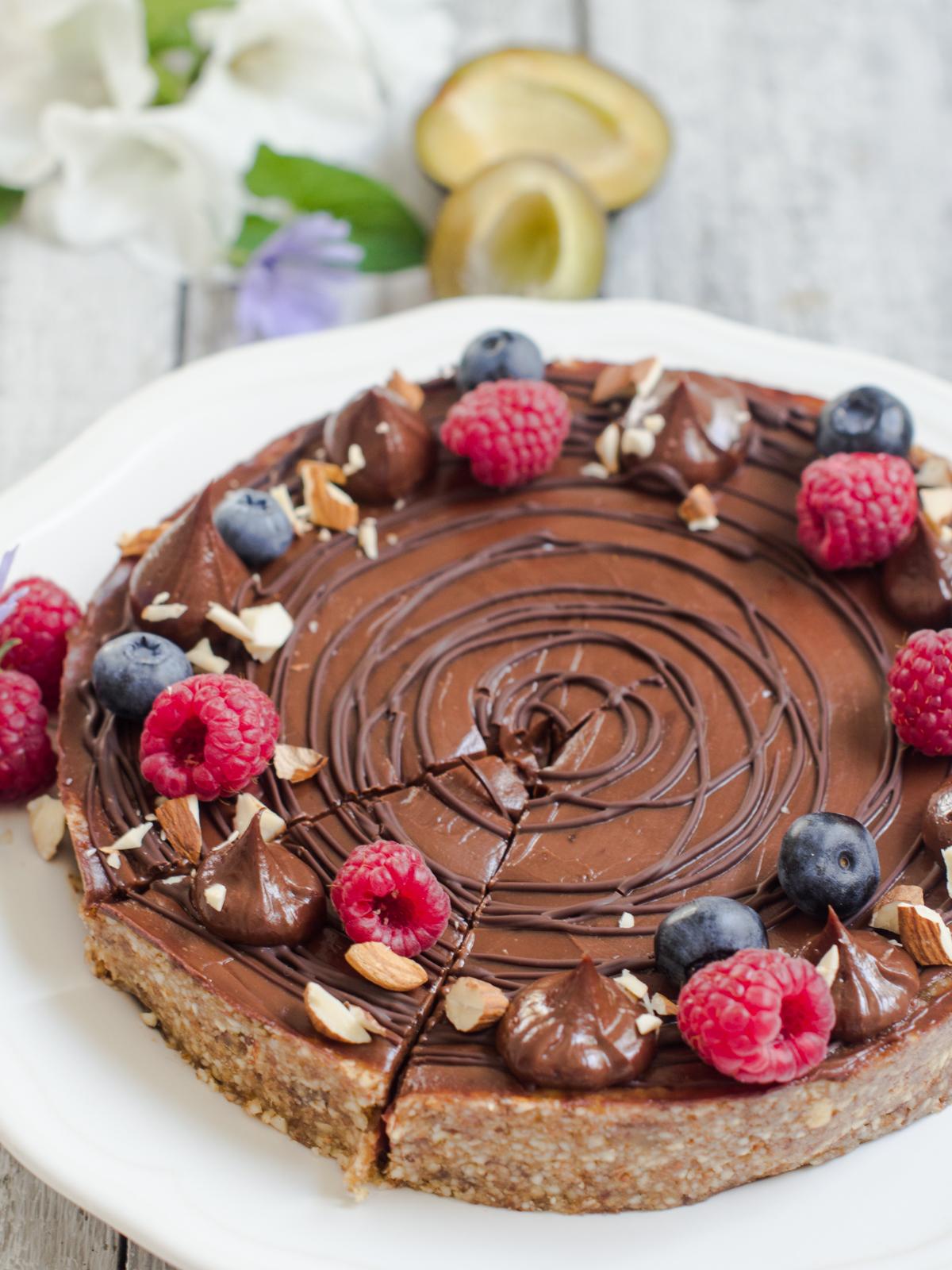 zdrava pita od sljiva i cokolade (9)