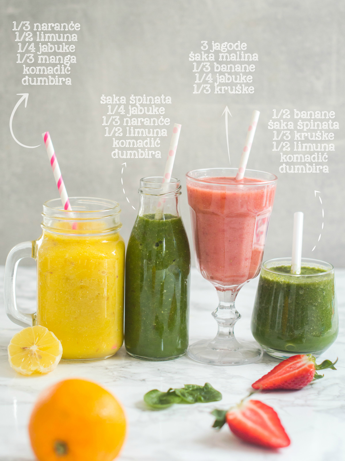 smoothie i smoothie packs recepti