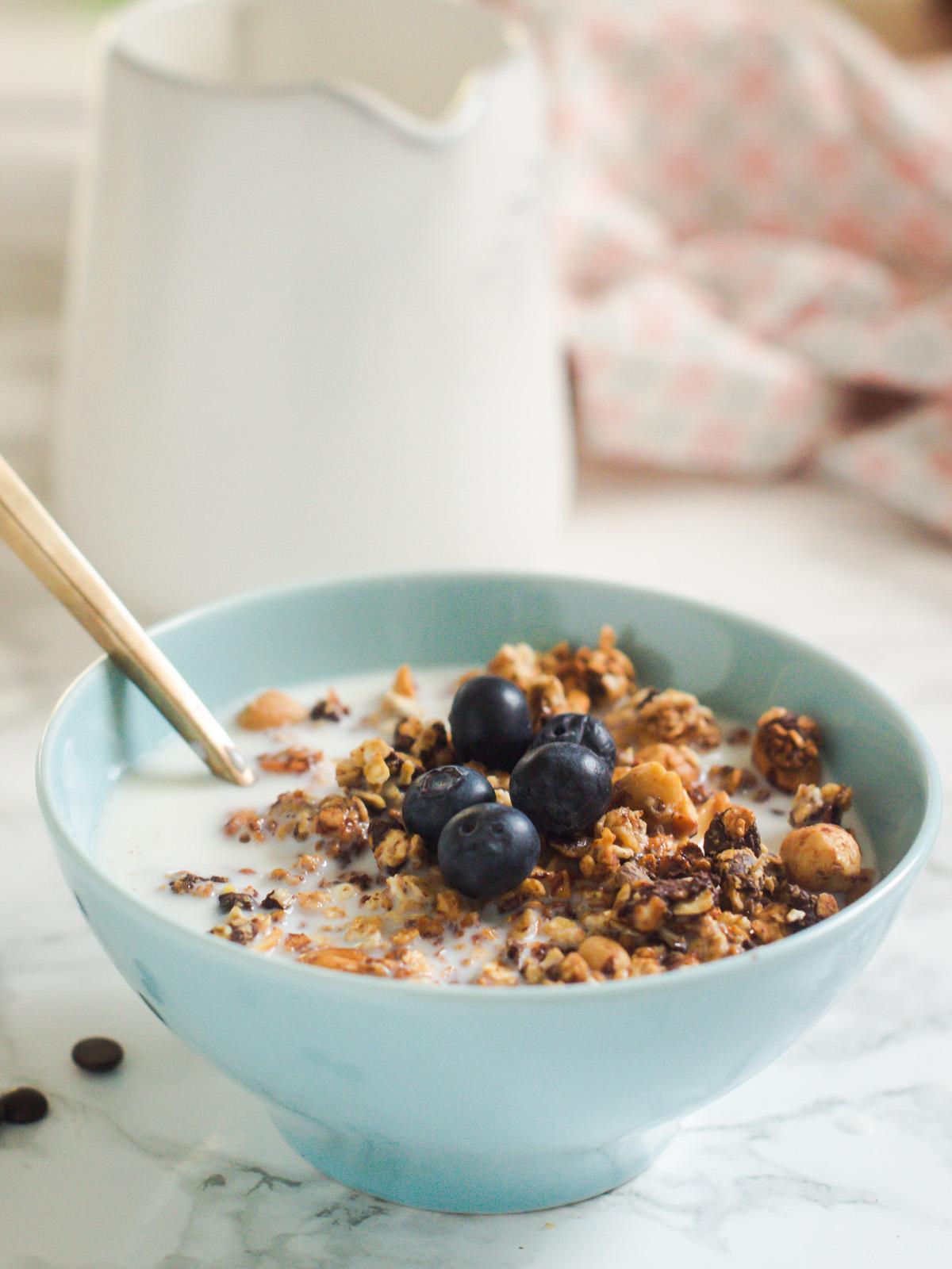 granola s kikirikijem i cokoladom (2)